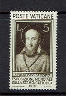 VATICAN...1936...mh - Vatican