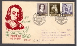 2.- SPAIN 1960. PINTING ART SPANISH PAINTER MURILLO - Arte