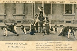 Luxembourg - Societe De Gymnastique De Bonnevoie 1915 - Section Des Pupilles - De Gassebowendanz - Cartes Postales