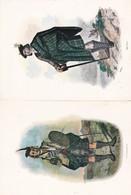 Lot 5 Images 15 X 20,5 Très Belles REPRO De Costumes écossais : Macleod, Clanranad, Cameron, Mac Lean , Buchanam - Alte Papiere