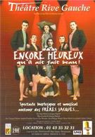 """Carte Postale """"Cart'Com"""" (1999) - Théâtre Rive Gauche - Encore Heureux Qu'il Ait Fait Beau ! - Théâtre"""