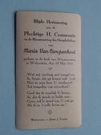 H. Communie Van Maria Van CAMPENHOUT > Kerk St. Laurentius Te WOLVERTEM Op 18 Mei 1941 ( Zie Foto's ) ! - Communion
