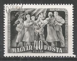 Hungary 1950. Scott #885 (U) Citizens Welcoming Liberators * - Oblitérés