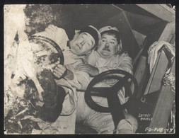 """STAN LAUREL, OLIVER HARDY (MOVIE """"The Flying Deuces"""" 1939.) - Vintage LOBBY CARD - LC3-60 - Cinema Advertisement"""