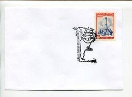AÑO DEL TURISMO DE LAS AMERICAS. SOBRE URUGUAY 1972 ENVELOPE SPC MATASELLO ESPECIAL - LILHU - Vacaciones & Turismo