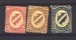 Ingrie - Ingerland :  Yv  2-4  ** - 1919 Occupation: Finland
