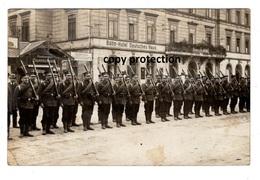 Bahn Hotel Deutsches Haus, Stempel Ravensburg, Atelier Eßlingen, Militär Parade, Hamburger Cigarrenhaus, Foto Ak 1914 - Ansichtskarten