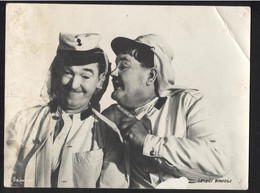 """STAN LAUREL, OLIVER HARDY (MOVIE """"The Flying Deuces"""" 1939.) - Vintage LOBBY CARD - LC3-64 - Cinema Advertisement"""