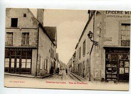 Chatillon Sur Loire Rue De Chambon - Chatillon Sur Loire