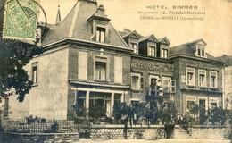 Luxembourg - Hotel Simmer - Propriétaire J. Pündel-Simmer - Ehnen Sur Moselle - Vianden