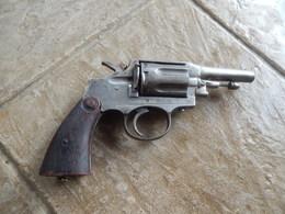 Pistolet/Revolver/A Identifier/Arnaout Souleiman/Smirne/Inerte - Sammlerwaffen