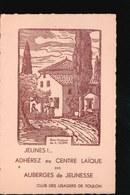 CPA451.....TOULON ....AUBERGE DE JEUNESSE - Scoutisme