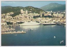 20 - AJACCIO - Vue Générale Et Le Port - Editions Yvon N° 10/12820 - Paquebot Ferry Boat - Ajaccio