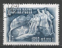 Hungary 1950. Scott #893 (U) Workers Symbolizing International Proletariat * - Oblitérés