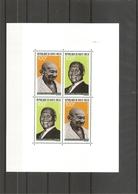 Gandhi ( BF 4 XXX -MNH -de Haute-Volta)) - Mahatma Gandhi