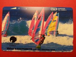 HAWAI GTE - 3u Watersports Aloha State Games 1993 Planche Voile MINT NEUVE (CB0718 - Hawaï