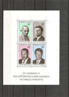 Gandhi ( BF 5 XXX -MNH - Du Tchad ) - Mahatma Gandhi