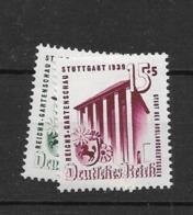 1939 MNH Reich, Postfris** - Allemagne