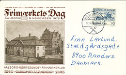 Greenland Ship Cover Sent To Denmark M/S KUNUNGUAK 30-11-1975 Sent To Denmark - Greenland