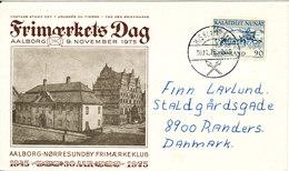 Greenland Ship Cover Sent To Denmark M/S KUNUNGUAK 30-11-1975 Sent To Denmark - Zonder Classificatie