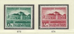 1938 MNH Reich, Postfris** - Allemagne