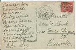 1927 - N° 243 Oblitéré (o) - Seul Sur Carte - MONTE CARLO - Covers & Documents