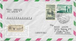 6-VOLO SPECIALE-ROMA-RIO DE JANEIRO-3 SETTEMBRE 1958 - 6. 1946-.. Repubblica