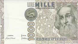 6-1000 LIRE MARCO POLO-A FIRME GOVERNATORE CARLO AZELIO CIAMPI-IL CASSIERE STEVANI - [ 2] 1946-… : Républic