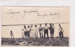 LAGUNA GUATRACHE, PAMPA CENTRAL. ARGENTINE. AÑO 1927 SIZE 14x8 Cm-RARE - BLEUP - Lieux