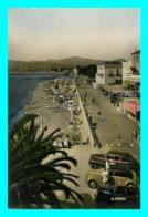 A747 / 355 06 - JUAN LES PINS Vue D'ensemble De La Plage ( Voiture ) - Antibes