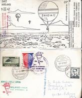 ITALIA REP. 1967 -  MOSTRA DI AEROFILATELIA - ANNULLO 17/091967. - 6. 1946-.. Repubblica