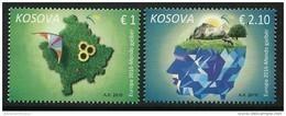 "KOSOVO/ Republic KOSOVA - EUROPA 2016 -TEMA ANUAL "" ECOLOGIA -EL PENSAMIENTO VERDE -THINK GREEN""- SERIE De 2 V - Europa-CEPT"