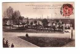 54 Mancieulles Mines De Saint Pierremont Les Pavillons Pour Ouvriers Célibataires - Francia
