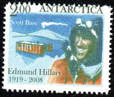 Antarctica Post Edmund Hillary/Scott Base Single. - New Zealand