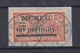 Memelgebiet Mi.-Nr. 24y Sauber Gestempelt GAIDELLEN 10.5.21 - Memel (Klaïpeda)