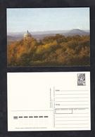 "1990.USSR. Stamped Stationery. Mountains. Caucasian Mineral Waters.City - Pyatigorsk Resort. Arbor ""Aeolian Harp"".Elbrus - Ski"