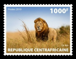 CAR 2019 Mih. 8769 Nature Of CAR. Fauna. Lion MNH ** - Central African Republic
