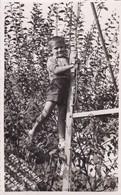 "PEQUEÑO NIÑO LITTLE BOY PETIT GARÇON FOTO ""TESORIN"" LAGO EPECUEN CARHUE-AÑO 1952 SIZE 8.5x14 Cm - BLEUP - Personas Anónimos"