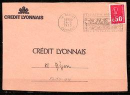 FL14-04 : Dept 14 (Calvados) BAYEUX 1973 > FD Illustrée Tapisserie - Postmark Collection (Covers)