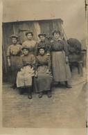 Carte Photo Ancienne : Groupe D'ouvrières - Photographie