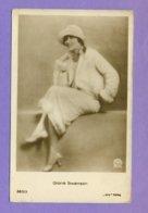 MOVIE STAR GLORIA SWANSON # 363/3 VINTAGE PHOTO PC. PUBLISHER GERMANY  5607 - Actors