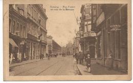 Seraing--rue Ferrer Et Coin De La Banque - Seraing