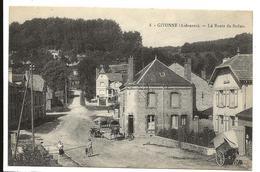 Ardennes GIVONNE La Route De Sedan Edt Moutarde Attelage 2 Scans .......giv - Sonstige Gemeinden