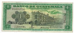 Guatemala 1 Qz.1970. VF. - Guatemala
