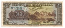 Guatemala 1/2 Qz. 1965. VF. - Guatemala