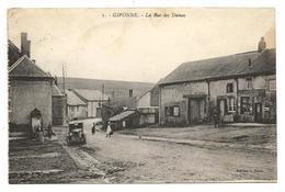 Ardennes GIVONNE La Rue Des Dames Tacot 1909 .... 2 Scans .......giv - Sonstige Gemeinden