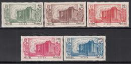 1939  Yvert Nº 69 / 73  /*/ - Níger (1921-1944)