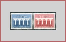 Faroer Faroe 1984 - Cat. 91/92 (MNH **) Europa CEPT - Europe (001640) - Isole Faroer