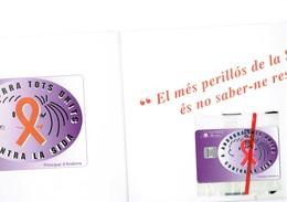 TELECARTE PHONECARD ANDORRA ANDORRE  SIDA  1996 PHO. 46 - Andorre