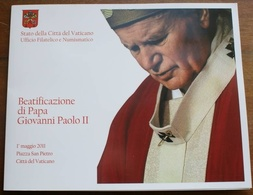 VATICANO - 2011 - FOLDER Beatificazione Papa Giovanni Paolo II - Vatican